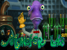 Играть в вирутальный автомат Monster Lab